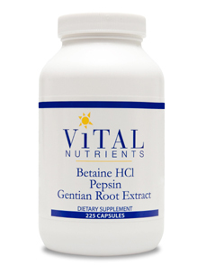 Betaine HCl Pepsin Gentian Root Extract