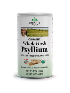Organic Whole Husk Psyllium (12oz)