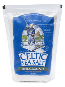 Celtic Sea Salt Fine Ground (Light Grey 1/2 lb)